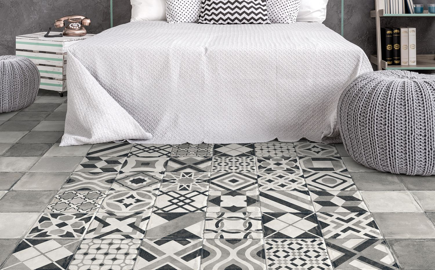 Tile fashion for the urban nation.