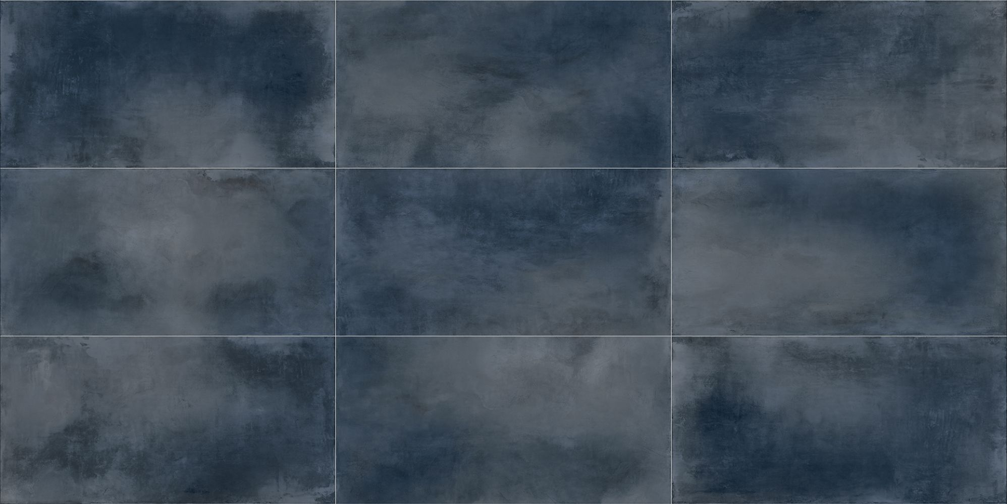 Industrial Blue 60x120R10 A - (9 facce - 9 faces)